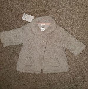 Fleece baby jacket